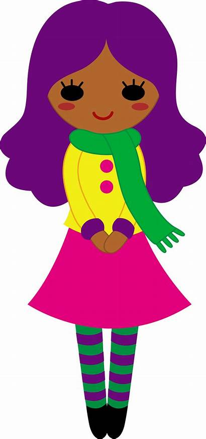 Purple Clipart Hair Clip Outfit Teenager Girly