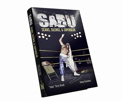 Sabu Scars Signed Silence Superglue Books Ecw