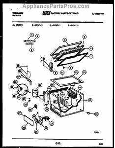 Parts For Frigidaire Cf8fl1  Chest Freezer Parts