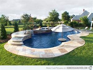 Free form pool designs green thumb pinterest for Free form swimming pool designs