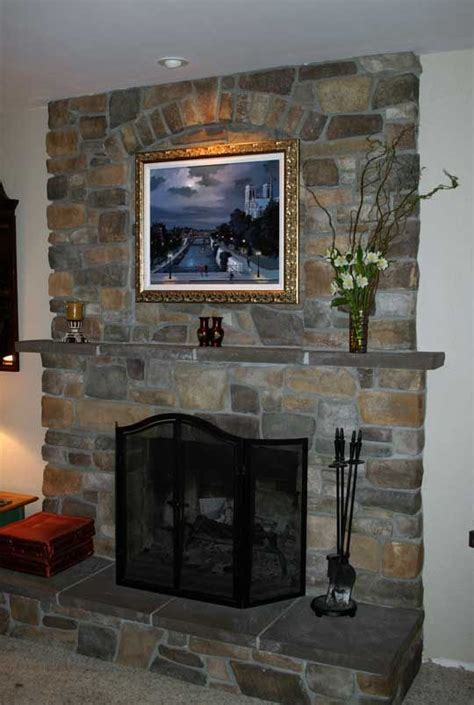 fireplace resurfacing   tv  wood stove insert