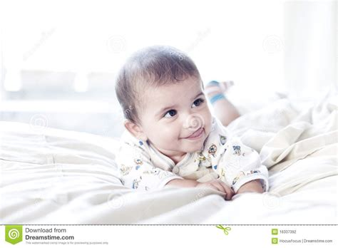 Cute Cheeky Baby Stock Photography Image 16337392