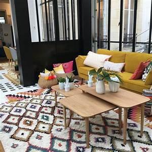 Petit Tapis Berbere : la tendance du tapis berb re en d coration d 39 int rieur ~ Teatrodelosmanantiales.com Idées de Décoration