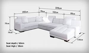 canape d39angle panoramique en cuir jersey pop designfr With canapé d angle petites dimensions