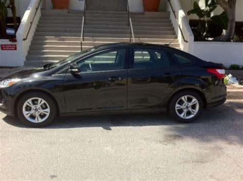 find   ford focus manual transmission black