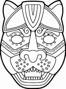 Dessin Jaguar Facile : coloriage masque de jaguar imprimer sur coloriages info ~ Maxctalentgroup.com Avis de Voitures