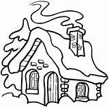 Smoke Chimney Drawing Coloring Houses Sketch Signspecialist Buildings Credit Larger sketch template