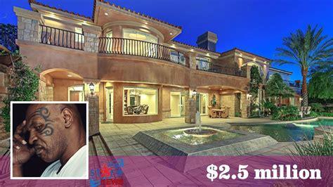 Mike Tyson's House $25 Million 2017  Celebrity House