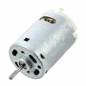 12v Dc 6000rpm Torque Magnetic Mini Electric Motor For Diy Toys Cars Ts