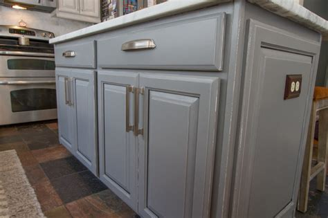 houzz painted kitchen cabinets gray painted kitchen cabinets transitional nashville 4358