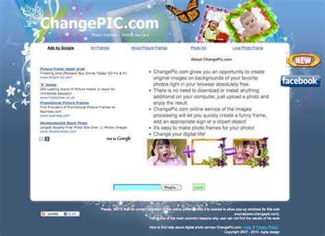 mettere cornice a foto sito per mettere cornici alle foto e gratis