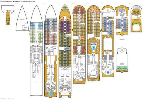 azamara journey deck plan pdf seabourn sojourn deck plans diagrams pictures