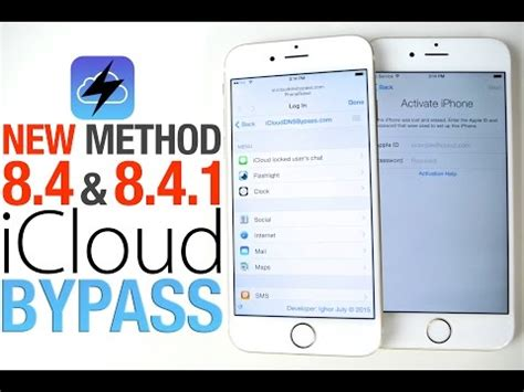 bypass activation lock iphone 4 how to bypass icloud activation lock on ios 84 841 updated
