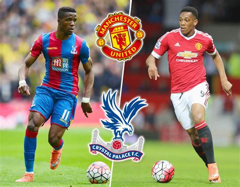 Crystal Palace vs. Manchester United combined XI based on ...