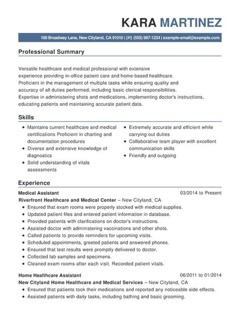 nursing functional resume samples examples format