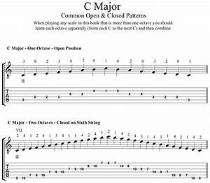 Major Scales For Classical Guitar  Pdf  Notes  Tab