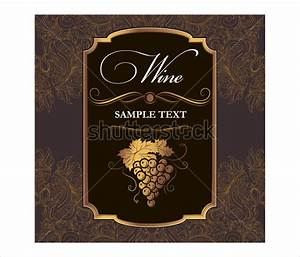 34 wine label templates free sample example format for Downloadable wine labels