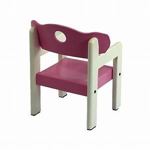 Chaise Bois Enfant : chaise avec accoudoir enfant ouistitipop ~ Teatrodelosmanantiales.com Idées de Décoration