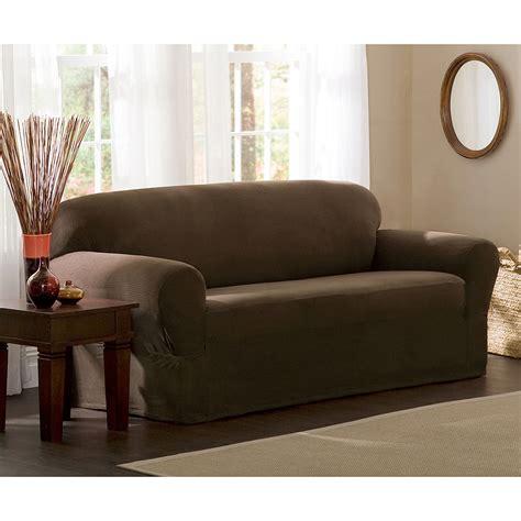 stretch slipcovers for sofa maytex stretch 2 sofa slipcover walmart com