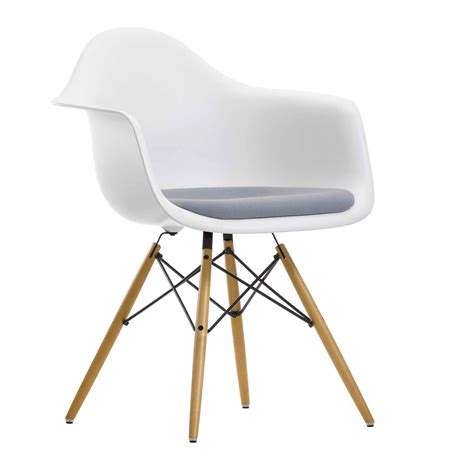 vitra eames chair daw plastic upholstered armchair
