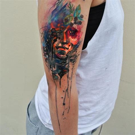 155+ Stunning Watercolor Tattoos That Will Take Your