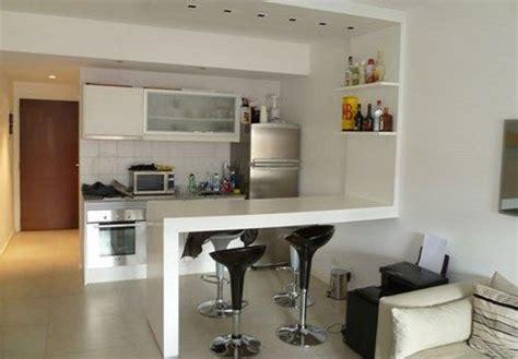 muebles de cocina  monoambiente ideas departamentos chicos muebles de cocina decoracion