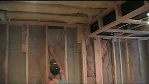 How to Insulate your finished basement - YouTube