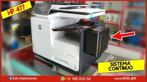 Hp pagewide pro 477dwt printer. Impresora multifunción HP PageWide Pro 477dw con sistema ...