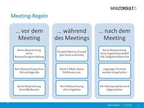 meeting regeln mailconsult mailconsult blog