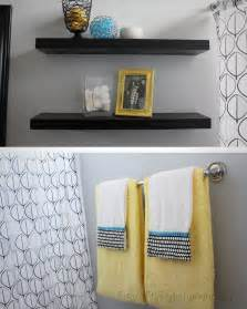 gray and yellow bathroom ideas fit crafty stylish and guest bathroom makeover