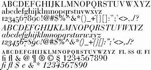 Modern Typefaces Typeface Bodoni