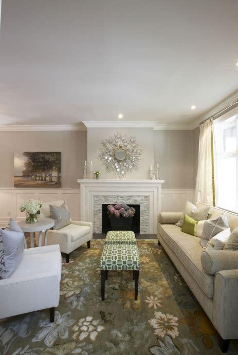 gray walls transitional living room pratt  lambert gray moire meredith heron design