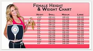 Female height healthy weight chart | height weight charts ...