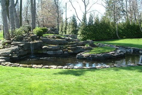 innovative landscapes pond waterfall photo gallery