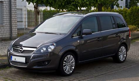 Opel Zafira by File Opel Zafira B Facelift Frontansicht 7