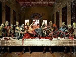 Zombie Jesus Last Supper