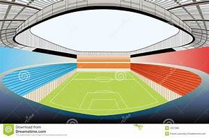 Stadium vector stock photo image