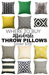 affordable places to buy throw pillows for under 20 With best pillow money can buy