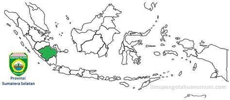 daftar kabupaten dan kota di provinsi sumatera selatan