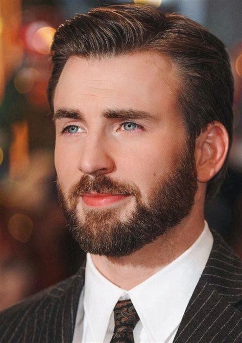 Pin on Chris Evans beard