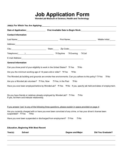 Scout Boats Job Application by Medical Office Supplies