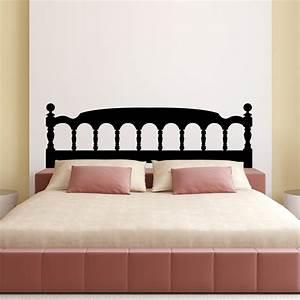stickers muraux tetes de lit sticker mural tete de lit With carrelage adhesif salle de bain avec lit 140 a led