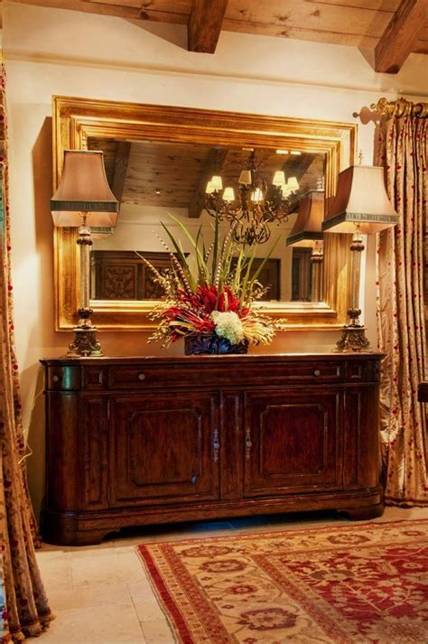 dining room table centerpiece ideas bright mirrored buffet in dining room mediterranean with