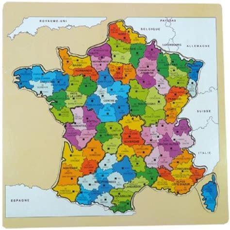 au sujet des départements français moments puzzle carte de achat vente jeux et jouets pas