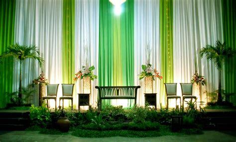 dekorasi pernikahan modern simpel  yogyakarta