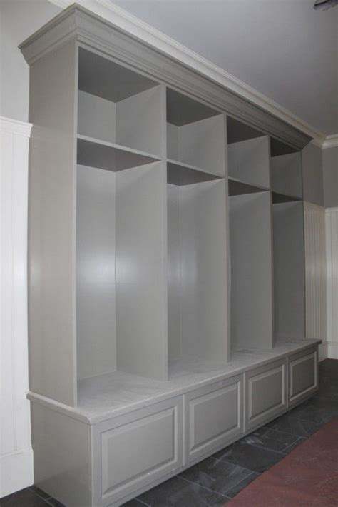 mudroom locker  drawers   home pinterest
