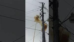 Underground Primary Wire Fuse Blowing