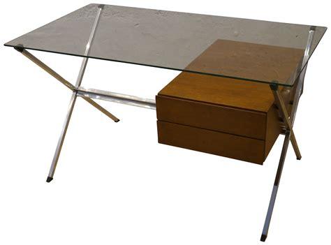 bureau en metal bureau design verre metal maison design sphena com