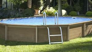 Grande Piscine Hors Sol : grande piscine hors sol pas cher piscine de jardin en bois ~ Premium-room.com Idées de Décoration