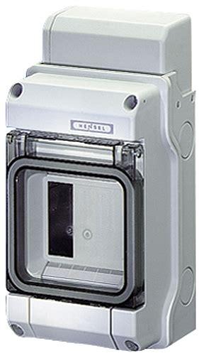 Hensel Circuit Breaker Box Mod